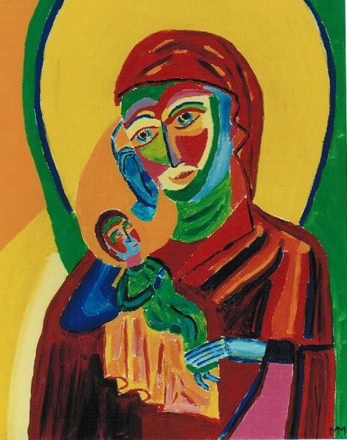 Die weinende Maria