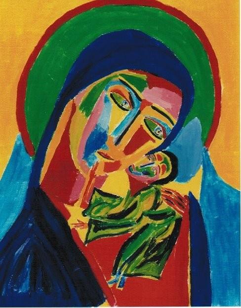 Die zärtliche Mutter Gottes