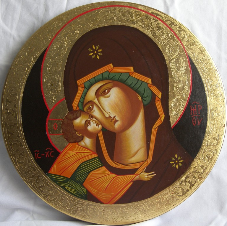 VIRGEN DEL DON (TONDO) 40cm diametro 500€