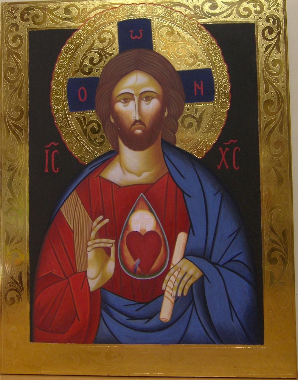 CORAZÓN DE JESUS  45 X 35 450 €