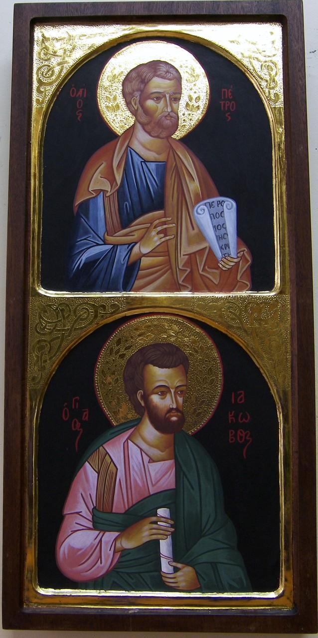 APOSTOLES PEDRO Y SANTIAGO   59 X 28   450 €
