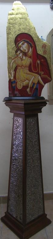 COLUMNA DE PLATA 96cm 1000€