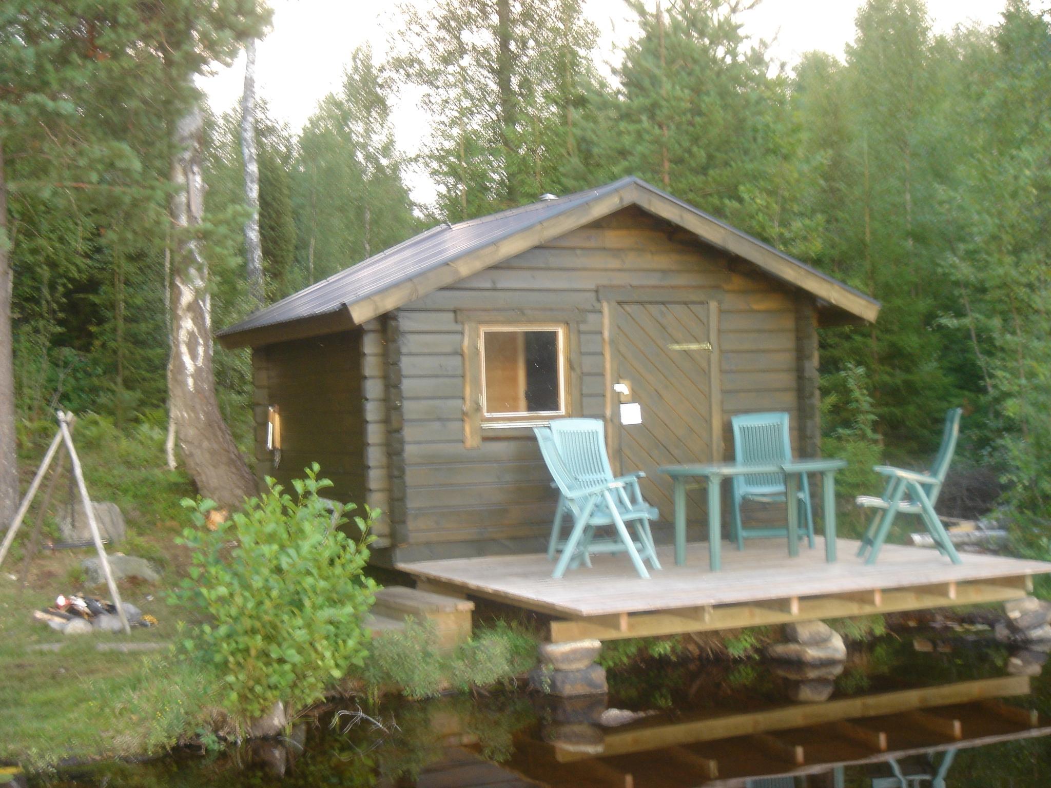 Die Sauna im Sommer