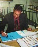 Erste Ausstellung in Darmstadt mit James Rizzi - In der Kunsthandlung Langheinz