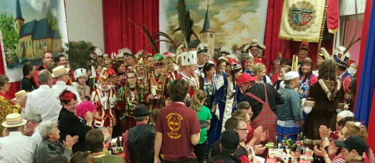 Karneval 2017 beim Spielmannszug Echo Niederdrees