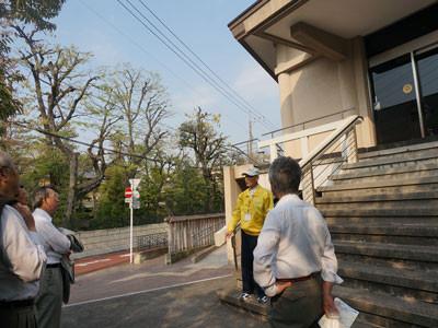 ▲龍子記念館入口(日本画の巨匠川端龍子の旧宅跡)