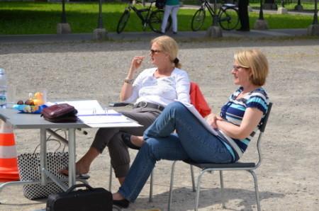 Irene Wietlisbach und Corinne Rathgeb, beide Regie-Team