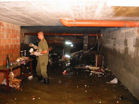 Überflutete Keller!