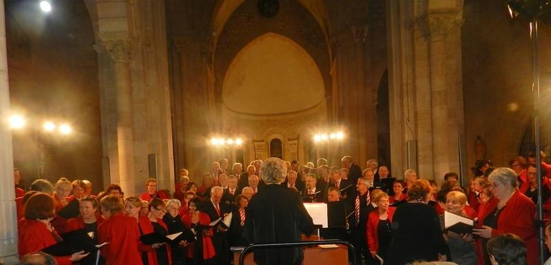 28 juin - avec la chorale de Roanne