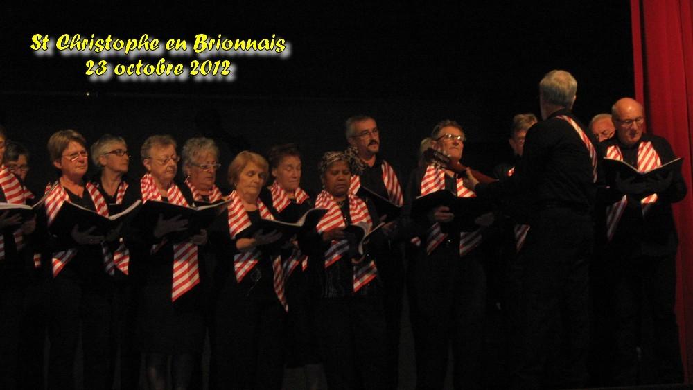 Concert de la semaine bleue - St Christophe - octobre 2012