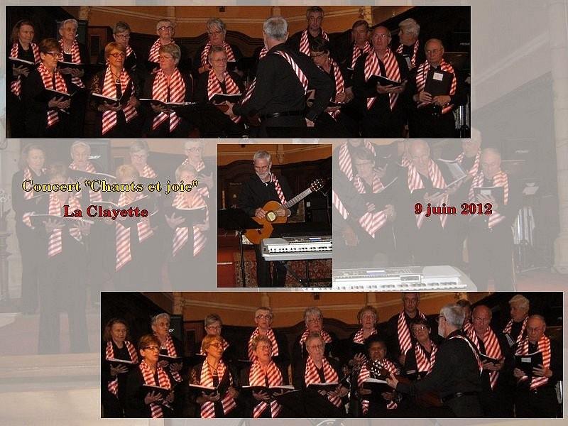 """Concert """"Chants et joie"""" - La Clayette - 9 juin"""