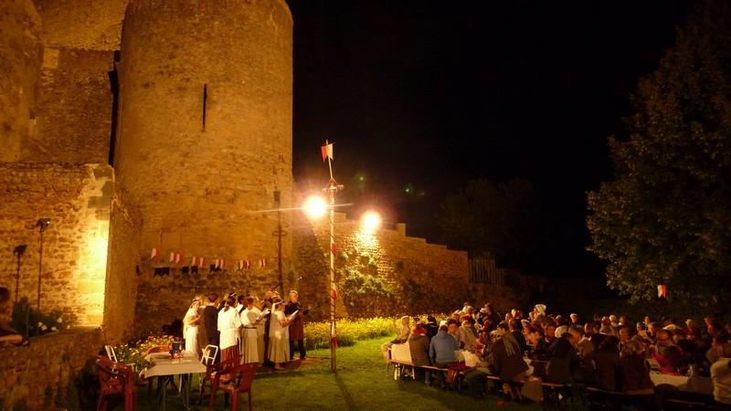 Repas médiéval - 9 août 2011