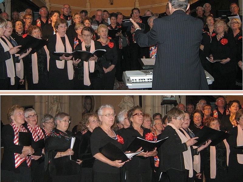 """Concert """"Chants et joie"""" -avec La Clayette, Chauffailles et Charolles"""