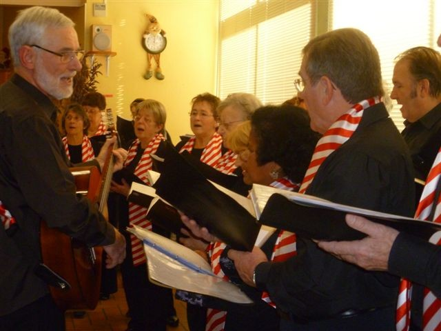 A la maison de retraite de Semur le 12 décembre 2012