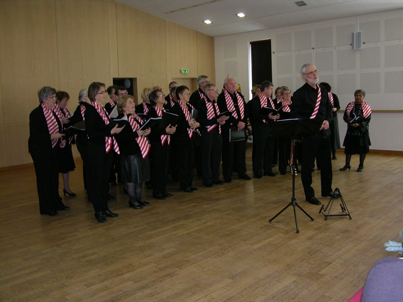 15 décembre - Concert à Iguerande - Repas de Noël.