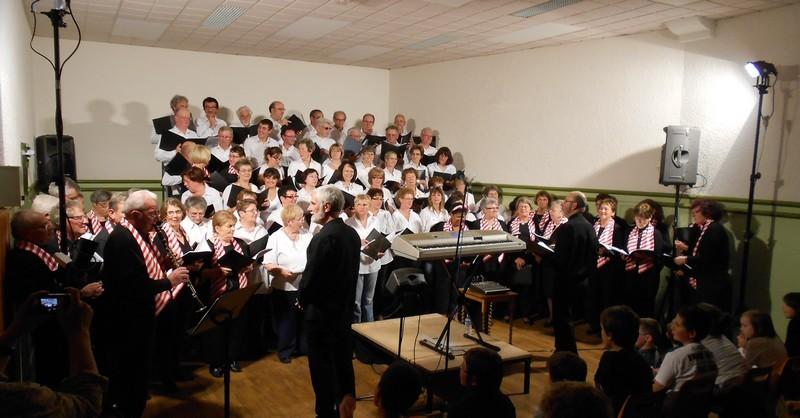 1er juin 2013 - Semur - Concert avec les Melay's singers