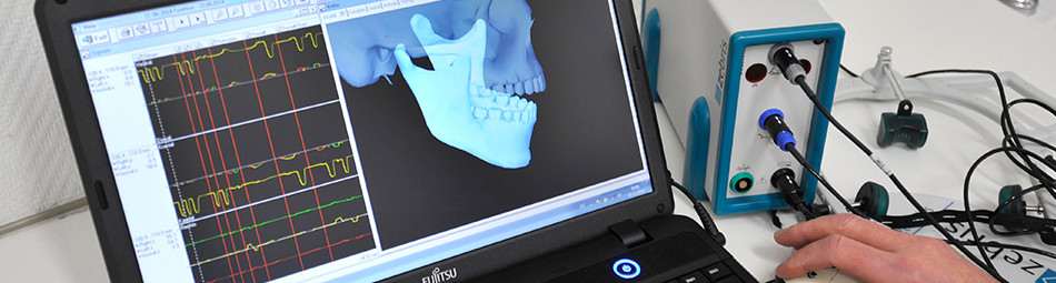 Computergesteuerte Kiefergelenkvermessung mit modernsten Apparaten