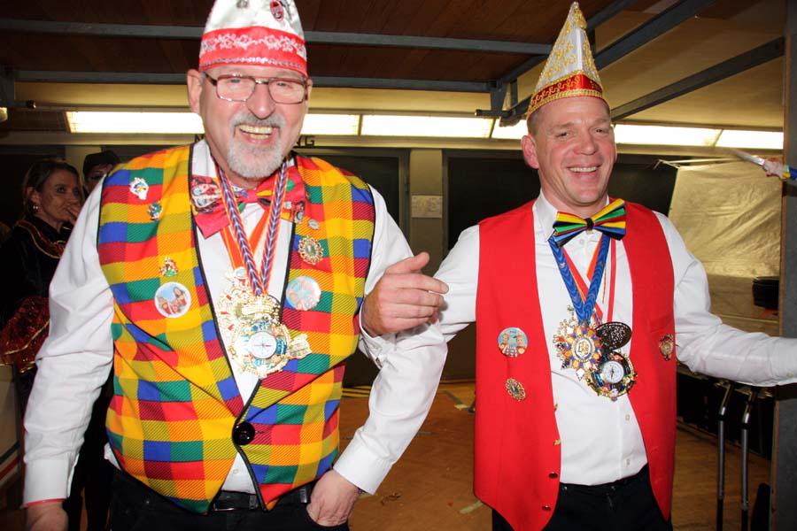 Für jeden Spaß zu haben: D. Schirra (li.) und F. Edelmann
