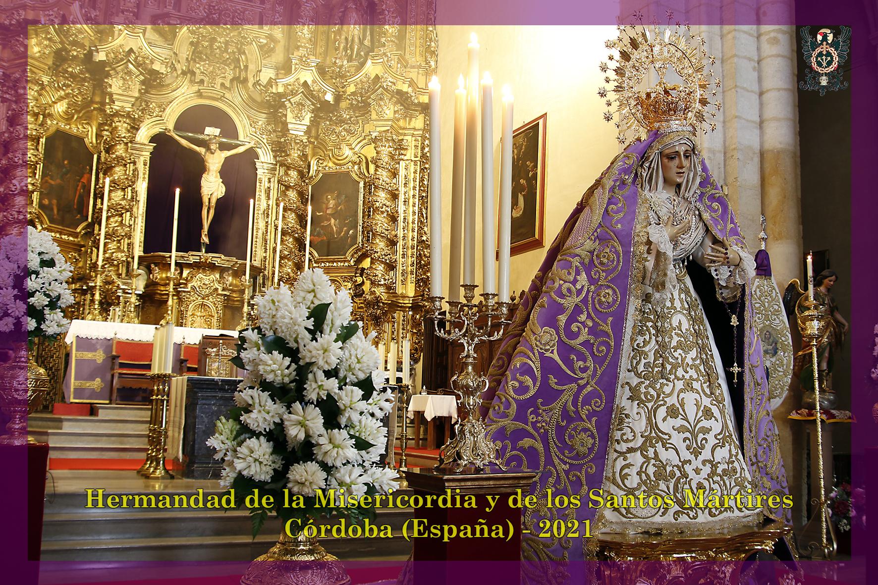 Veneración de Nuestra Señora de las Lágrimas en su Desamparo