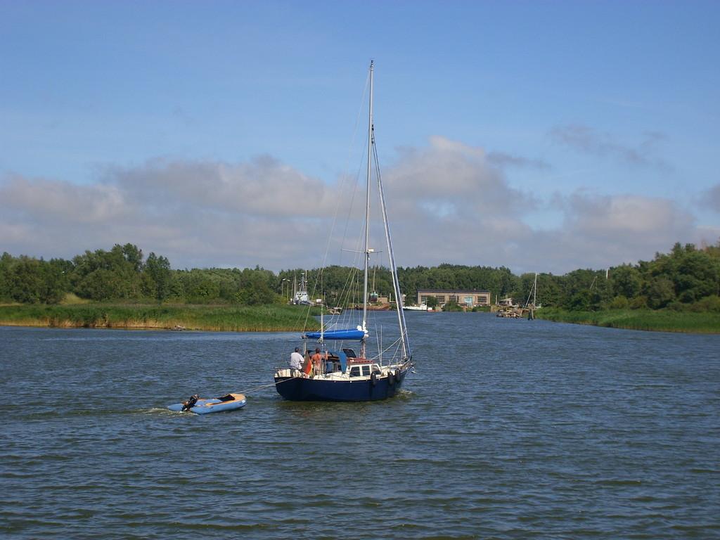 Einfahrt Nordhafen Peenemünde 8/2008 - © Betonwolke