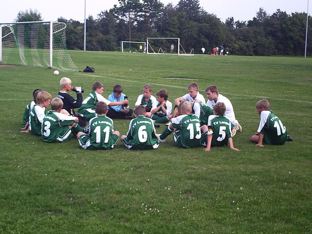 Mannschaftsbesprechung (07.08.2009)