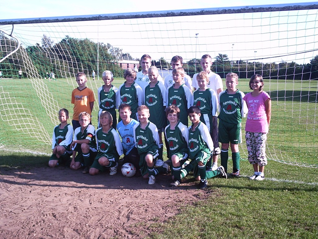 Mannschaftsfoto vor Saisonbeginn 2009/10 (14.08.2009)
