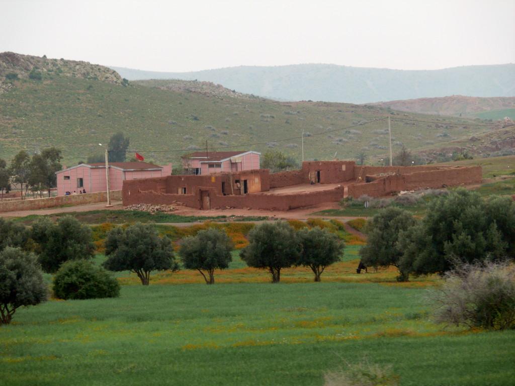 Typische marokkanische Stadt