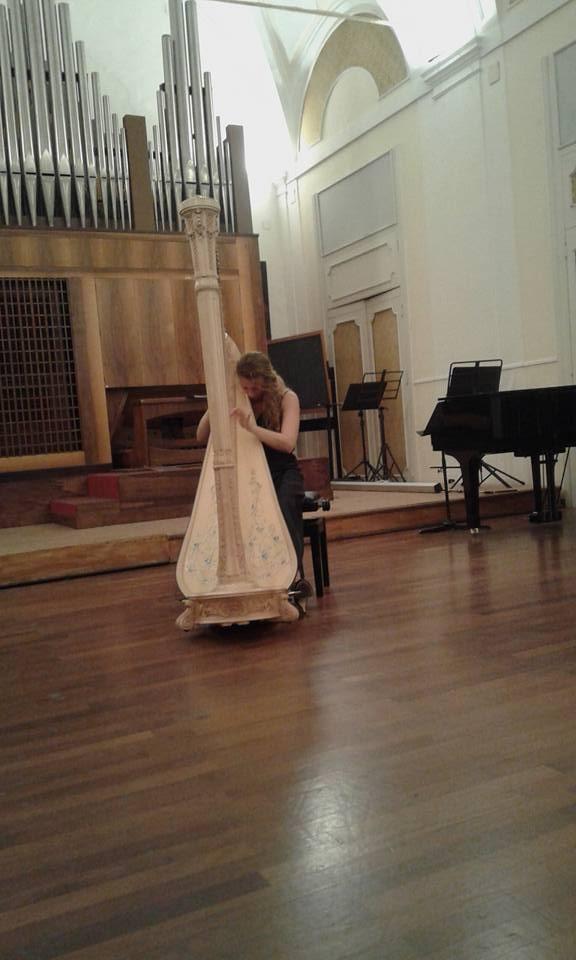 Concert/Master-Class au Conservatoire de Naples, Novembre 2015