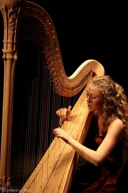 Concours international de harpe Lily Laskine, 2014 © Caroline Le Blan 2014