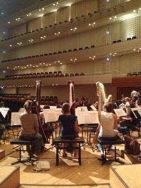 Concert avec le Gustav Mahler Jugendorchester Tournée Août 2015, Herbert Blomstedt, Lucerne Festival