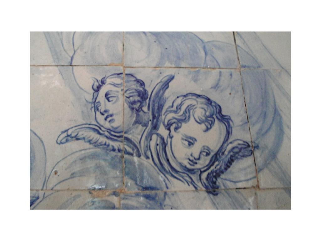 Anges d'azulejos à Olinda