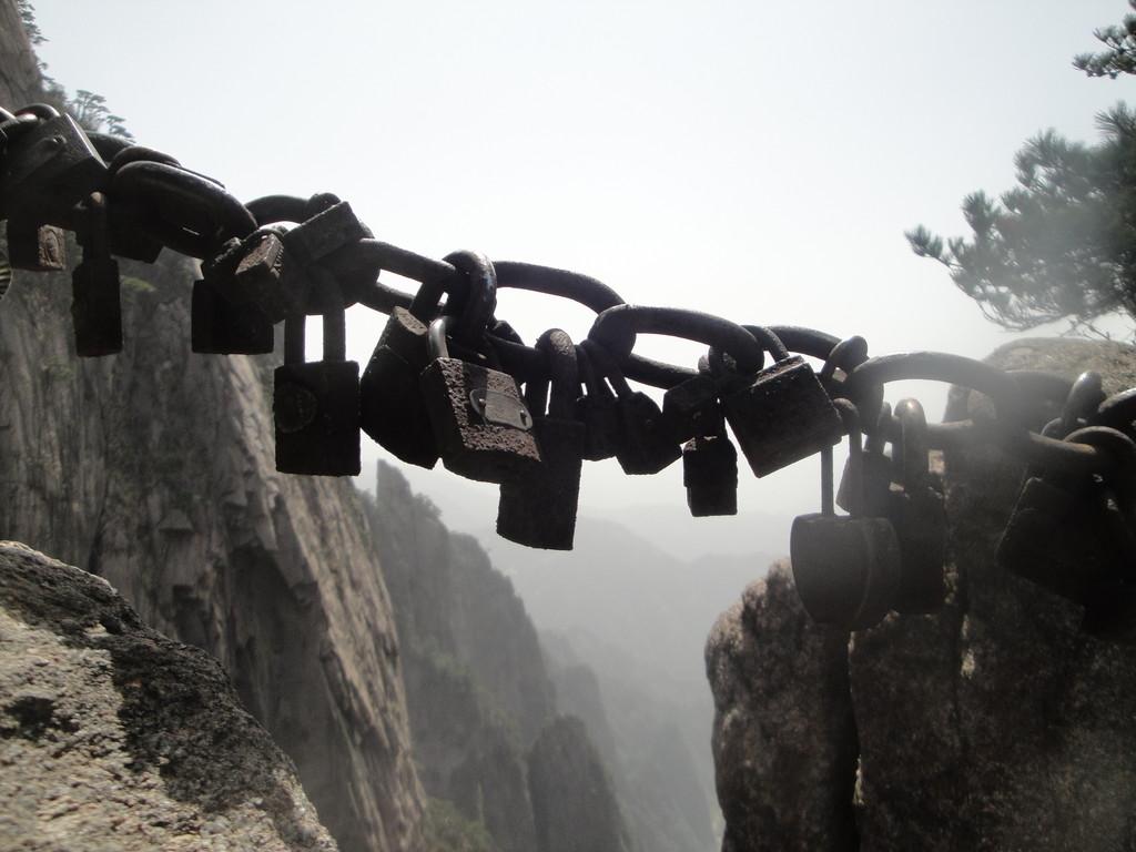 Sur les montagnes jaunes (Chine)