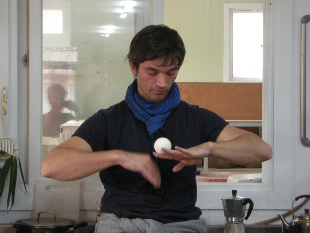 Homme en concentration (Rémi Laroussinie)