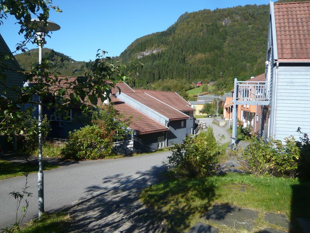 """Blick von """"meinem"""" Haus auf Student Village"""