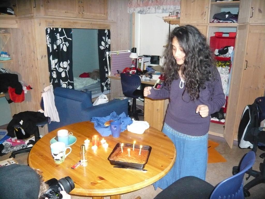 Irina wird 18. Oder doch schon 19? Man weiß es nicht...