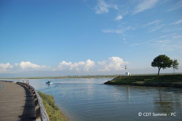 Sortie du port de St-Valery-sur-Somme