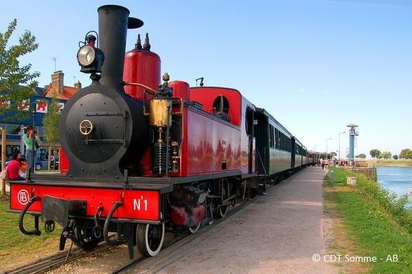 Le petit train de la baie de Somme (Cayeux > St-Valery > Le Crotoy)