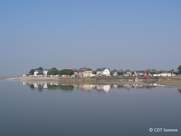 Le Crotoy vu de St-Valery-sur-Somme
