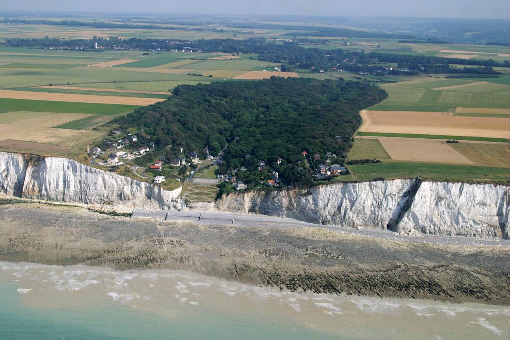 La valleuse du Bois de Cise entre Mers les Bains et Ault