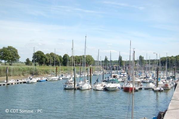 Le port de plaisance de St-Valery-sur-Somme