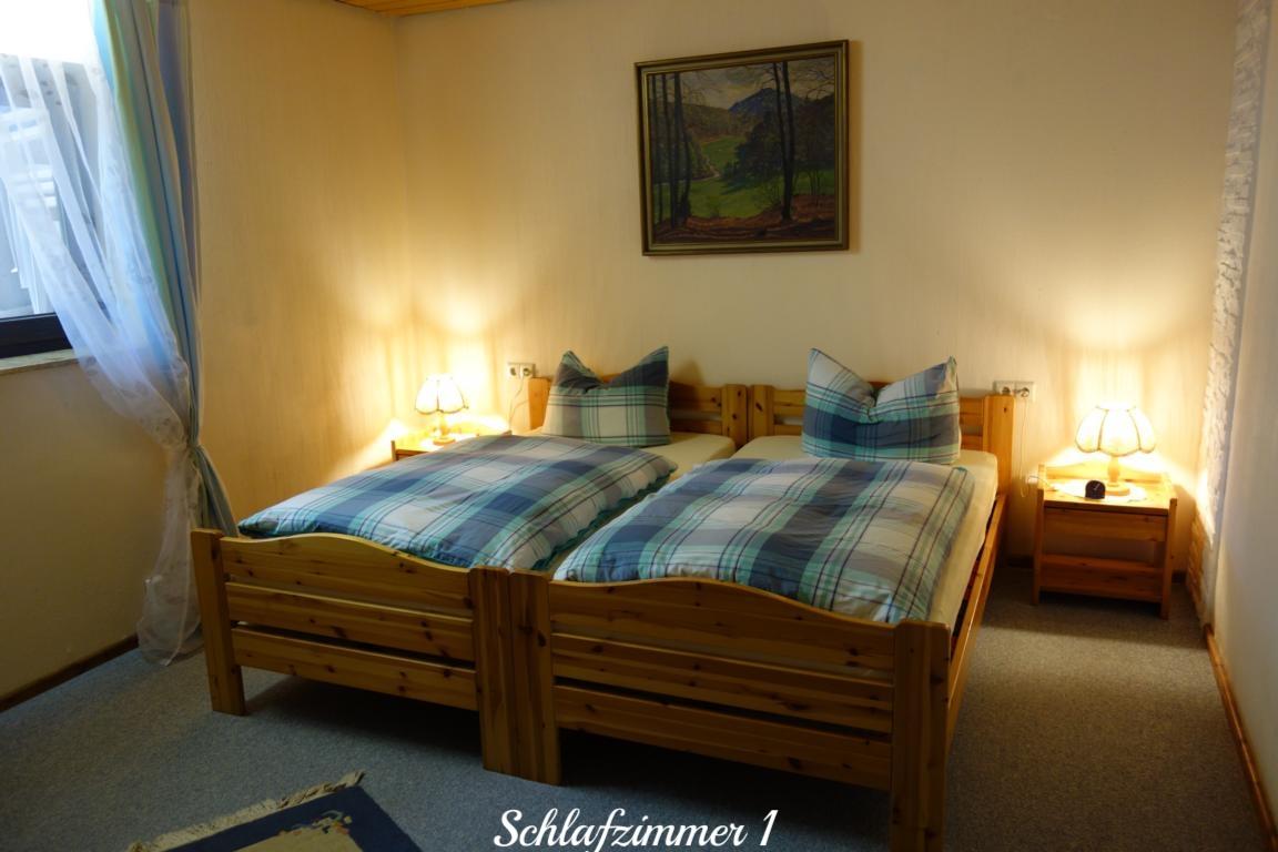 Schlafzimmer 1 der Ferienwohnung