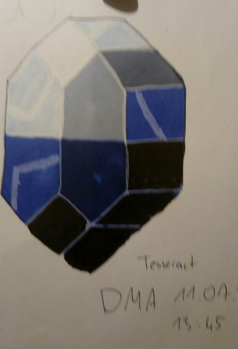Tesserakt 4d