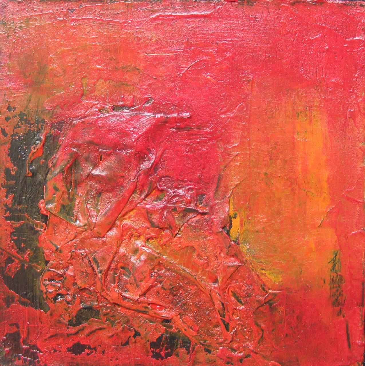 """2011-01 (1 von 2 Bilder) / """"Die Kraft"""" / 20 x 20 cm"""