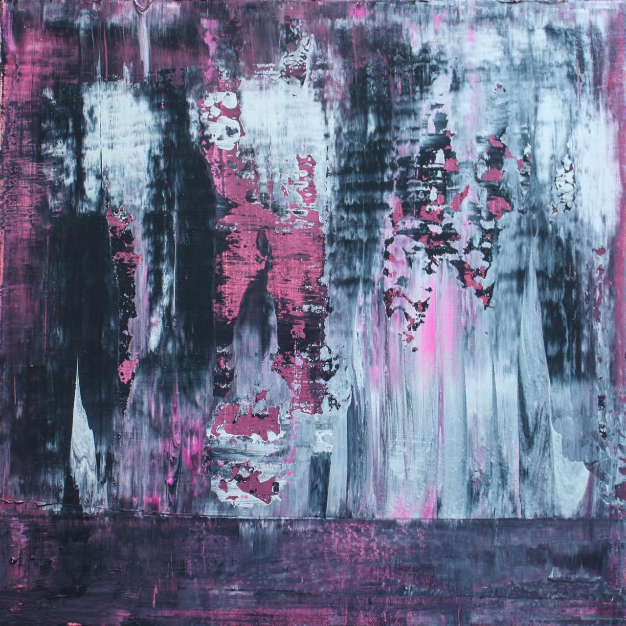 """2014-11 / """"Fluss Bild 6"""" / 50 x 50 cm"""
