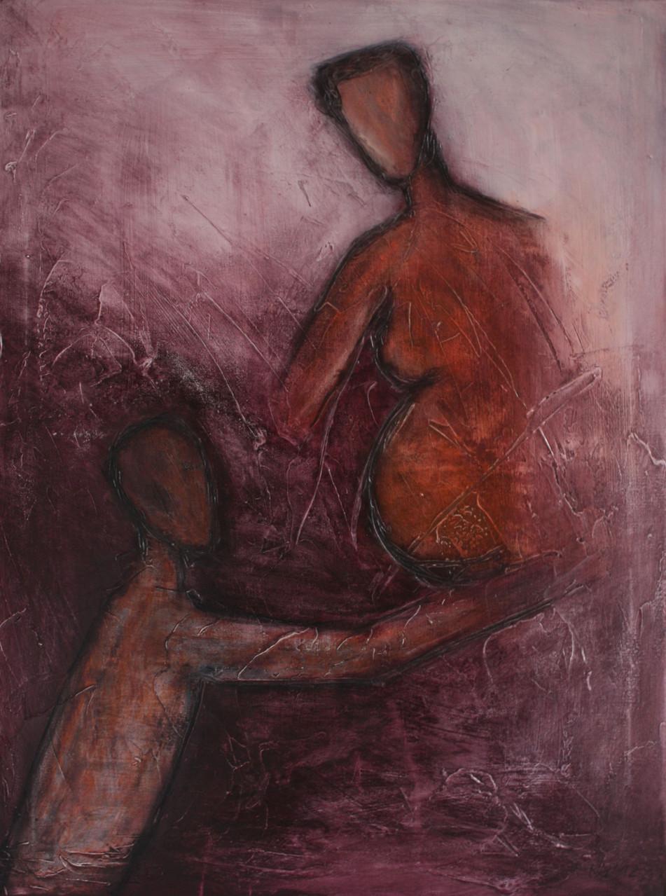 """2012-04 / """"Freude"""" / 60 x 80 cm"""