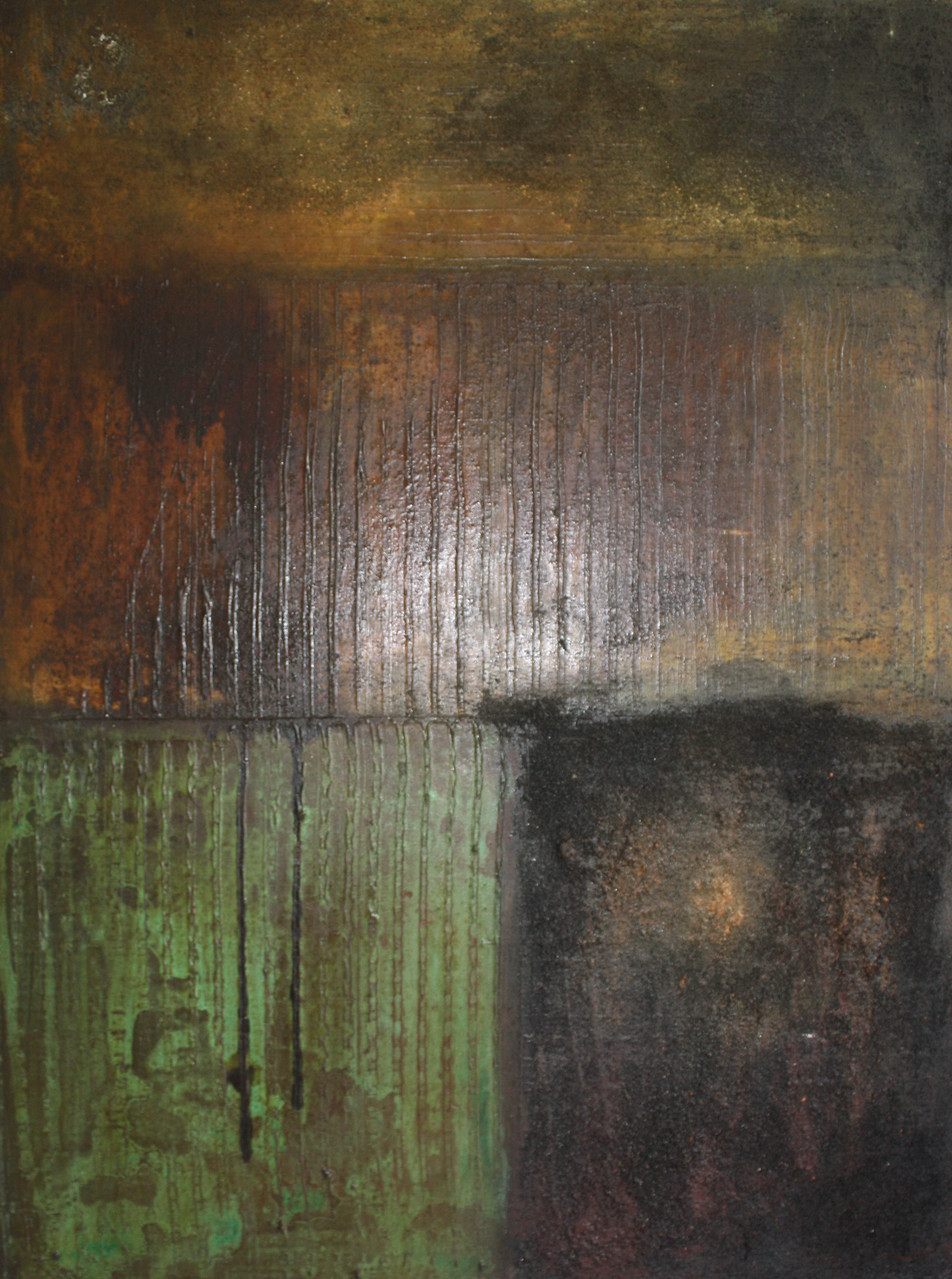 "2013-06 / ""Oxidation II"" / 60 x 80 cm"