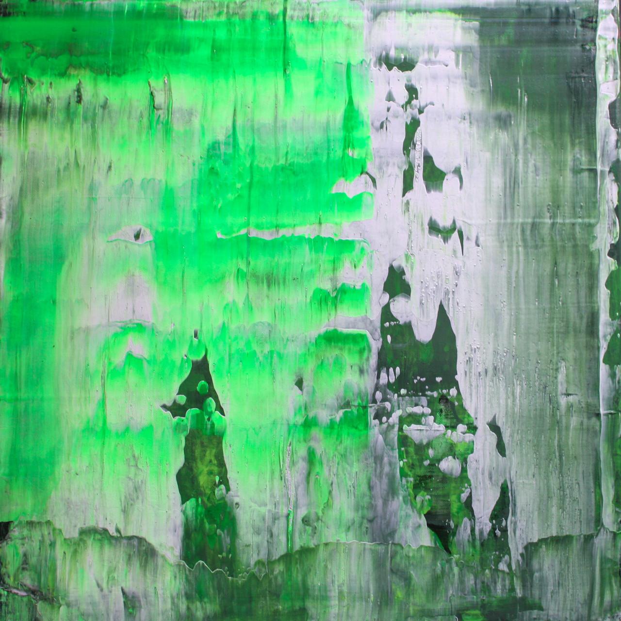 """2014-09 / """"Fluss Bild 4"""" / 50 x 50 cm"""