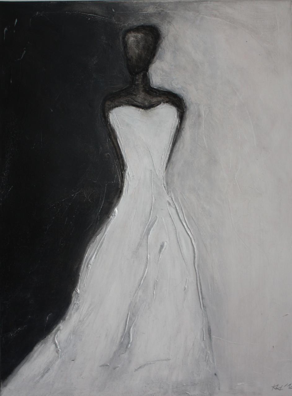 "2012-07 / ""Die Braut"" / 60 x 80 cm"