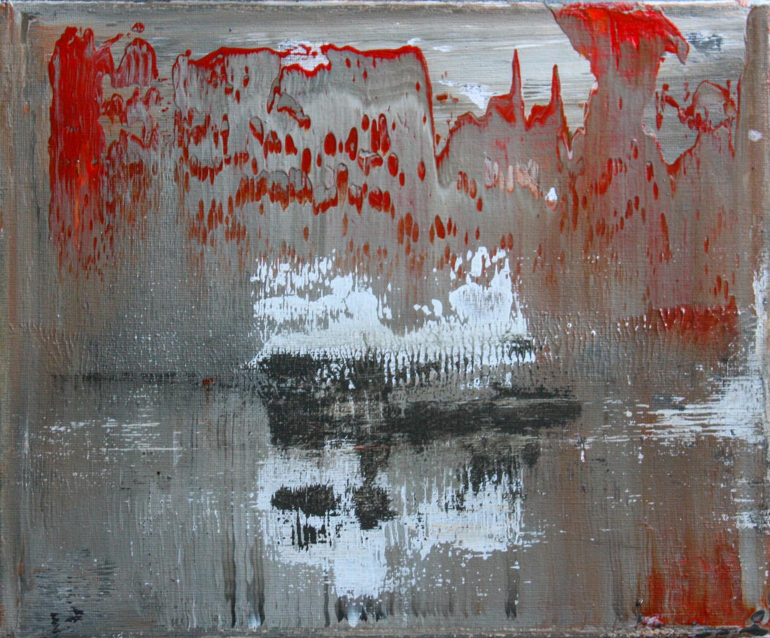 """2014-14 / """"Fluss Bild 9"""" / 30 x 20 cm"""