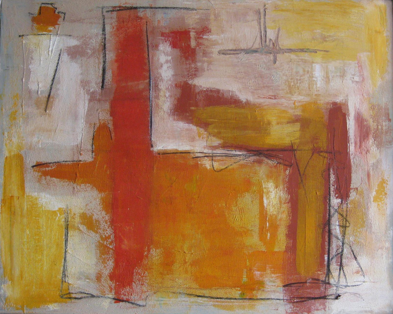 """2011-06 / """"Der Wolf"""" / 80 x 100 cm"""